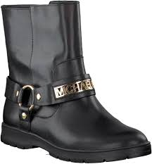 boots moto nwb michael kors essex moto booties black leather ankle boots mk