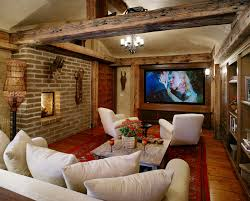 decor u0026 tips finishing basement walls and fireplace with ceiling