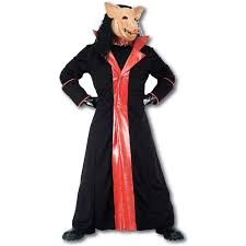hire halloween costumes saw pig ex hire sale fancy dress halloween costume size l male