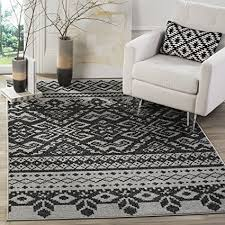 Bohemian Area Rugs Safavieh Adirondack Collection Adr107a Silver And