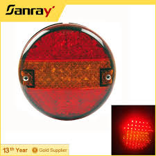 4 inch round led tail lights 4 round tail light type and 12v voltage led tail l buy 12v
