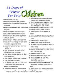 prayer guide for family and self printables plants and pillars