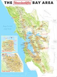 San Francisco Map Pdf by The Unscientific Bay Area U2013 Sasha Trubetskoy