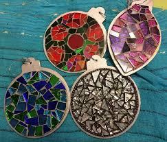 free shipping mosaic ornaments mosaic tree