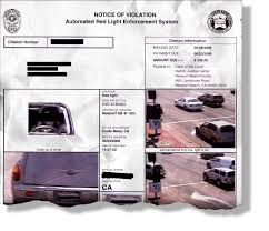 traffic light camera ticket how do you get a red light camera ticket