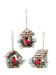 large birdhouse ornaments birdhouse ornament and pine cone