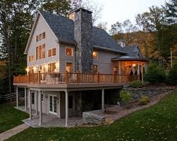 A Frame House Plans With Basement A Frame House Plans With Walkout Basement