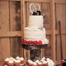 antler cake topper wooden antler cake topper initial cake topper monogram cake