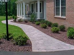 Front Yard Walkway Landscaping Ideas - front walk landscape ideas front walkway unique garden ideas
