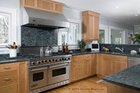 Natural Cherry Shaker Kitchen Cabinets Designing A Shaker Style Kitchen