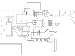 floor plan sle with measurements commercial kitchen plan room image and wallper 2017