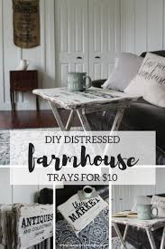 Coffee Table Decor Tray by Top 25 Best Farmhouse Tv Trays Ideas On Pinterest Rustic Tv