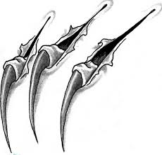 cool claws just a line drawing of what i d like to be a 5 claw version