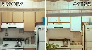 Apartment Kitchen Makeover  The Decor Guru - Contact paper for kitchen cabinets