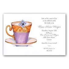 high tea invitation templates