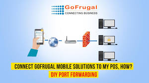 connect gofrugal mobile solutions to my pos how diy port