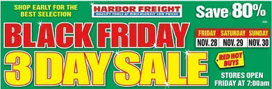 black friday harbor freight harbor freight black friday 2014 ad scans slickguns gun deals