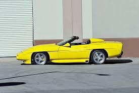 corvette of houston 1993 lister corvette convertible heading to mecum houston