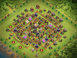 Coc Map Post October 2016 Th11 Farm Bases Small Compilation