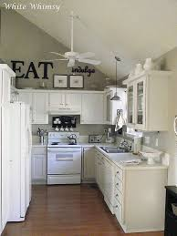 White Kitchen White Appliances by Best 25 Above Kitchen Cabinets Ideas That You Will Like On