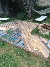 Easy Backyard Patio Best 25 Cheap Deck Ideas Ideas On Pinterest Firepit Ideas