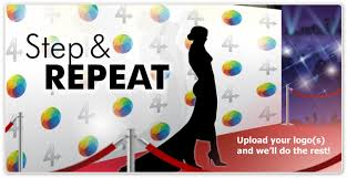 step and repeat backdrop just4banners step repeat backdrop banners