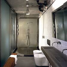 Create An Illusion Of Rough Surfaces And Materials That Suggest - Industrial bathroom design