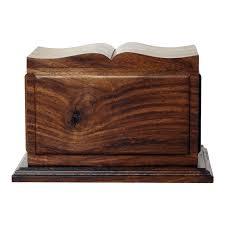 wooden urns for ashes book of wood cremation urn safe passage urns
