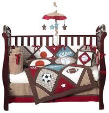 Sport Crib Bedding Sport Baby Bedding Nosnore Info