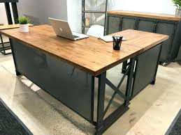 solid l shaped desk l shaped wood desk l shaped desk office image of reclaimed wood l