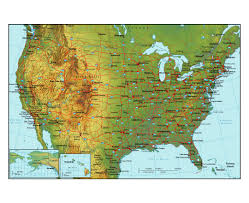 Map Of Baton Rouge Maps Of The Usa The United States Of America Political