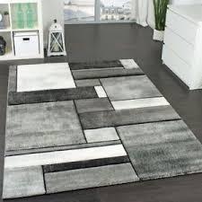 tappeto grande moderno grigio grande tappeto moderno design a quadri corto pila soggiorno