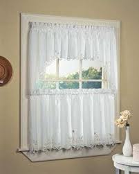 Bathroom Window Valance by Butterfly Embroidered Kitchen Tiers Valance And Swags Valance