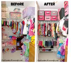 one creative housewife organizing my daughter u0027s closet