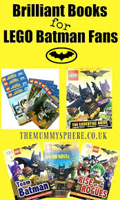 collection brilliant books lego batman movie