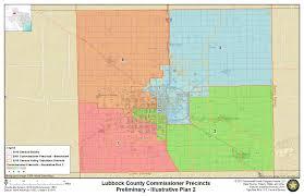 Texas Precinct Map Document Center Notice Of Public Hearing Lubbock County Texas