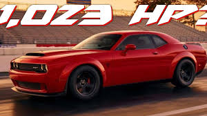 hellcat demon engine crazy rumors say the 2018 dodge challenger srt demon has up to