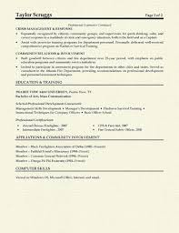 Resume Affiliations Examples by Fireman Resume Example