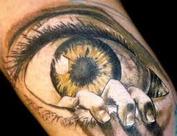 hottoe gallery eye tattoos are not common
