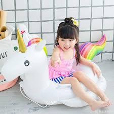 siege enfant gonflable siège de sécurité à flotteur anneau de natation gonflable licorne