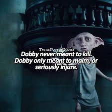 dobby harry potter quotes the s 1 harry potter wallpaper