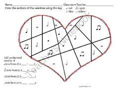 count the beats valentines day rhythm syllable worksheets freebie