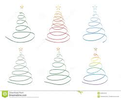 christmas tree ribbon clipart collection