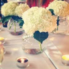 hydrangea centerpieces ours events simple hydrangea centerpieces