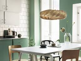 cuisine mur cuisine verte 3 nuances de la plus à la plus sombre joli