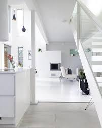 scandinavian interior design in white