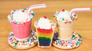 cake pop halloween ideas mini rainbow milkshake cake pops from cookies cupcakes and cardio