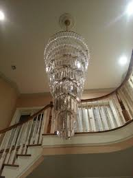 Modern Large Chandelier Large Chandeliers For Foyer Visionexchange Co