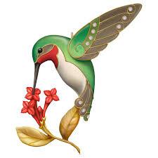dazzling hummingbird premium ornament keepsake ornaments hallmark