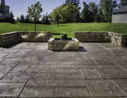 Concrete Patio Ideas For Small Backyards by For Stamped Concrete Patio Marvelous Images About Image With